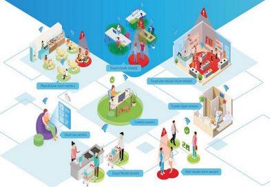 Fabrika, okul, AVM ve restoranlarda sosyal mesafe ile doluluk sensörlerle yönetilecek
